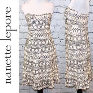 Nanette Lepore strapless dress
